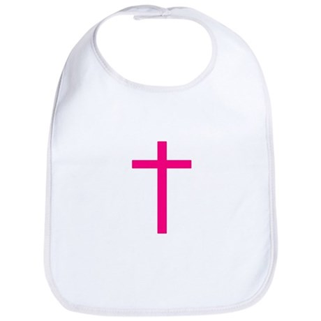 Pink Cross Bib
