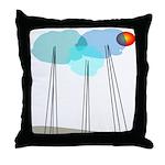 Mod Min AAB Throw Pillow