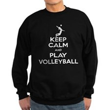 Keep Calm Volleyball Girl Sweatshirt