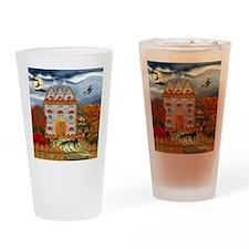 Samhain Cottage Drinking Glass