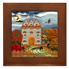 Samhain Cottage Framed Tile