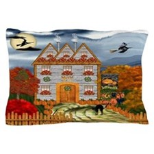 Samhain Cottage Pillow Case
