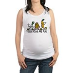 Veggie Runs Maternity Tank Top