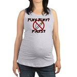 Puff Puff Pass Maternity Tank Top