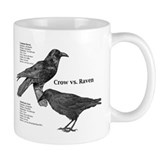 Crow vs. Raven - Small Mugs