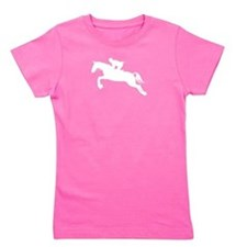 HorseJumper.eps Girl's Tee