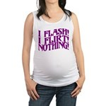 Flirty Flasher Maternity Tank Top