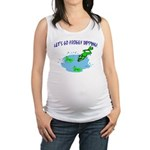 Froggy Dipping Maternity Tank Top