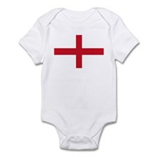 Saint George Cross flagwear Infant Bodysuit