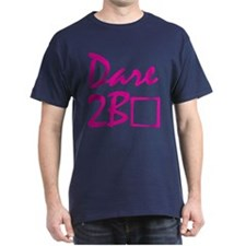Dare to be square! (pink) T-Shirt