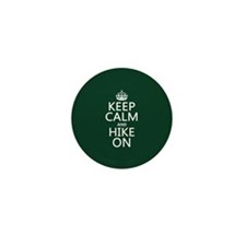 Keep Calm and Hike On Mini Button (100 pack)