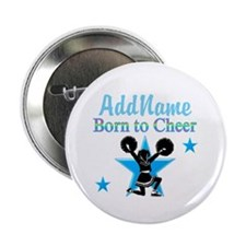"#1 CHEERLEADER 2.25"" Button"