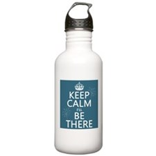 Keep Calm I'll Be There Sports Water Bottle