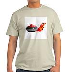 Flaming Rock Ash Grey T-Shirt