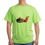 Flaming Rock Green T-Shirt