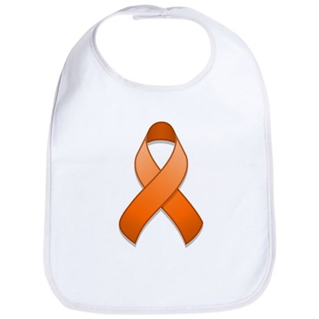 Orange Awareness Ribbon Bib