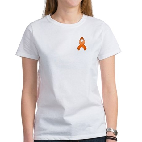 Orange Awareness Ribbon Women's T-Shirt