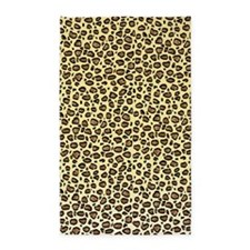 Unique Leopard pattern 3'x5' Area Rug
