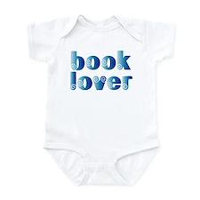 Cool Blue Reader Infant Bodysuit