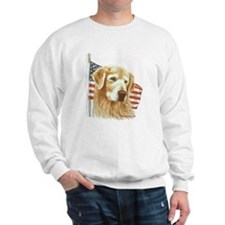 Moment of Silence Golden Retr Sweatshirt
