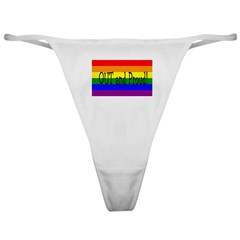 Out and Proud! Classic Thong