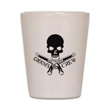 Pirate Groom's Crew Shot Glass