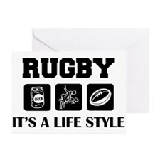 Beer Sex Rugby Greeting Cards (Pk of 10)