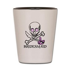 Pirate Bridesmaid Shot Glass