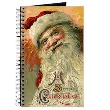 Vintage Christmas, Victorian Santa Journal