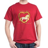 Racking Horse Ride Love T-Shirt