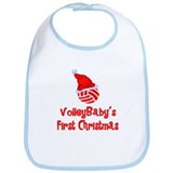 VolleyBaby's First Christmas Bib