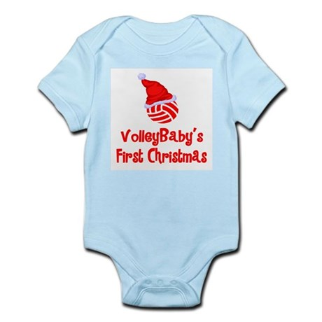 VolleyBaby's First Christmas Infant Bodysuit