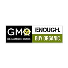 Gmo-Enough Car Magnet