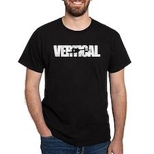 Vertical Black Shirt T-Shirt