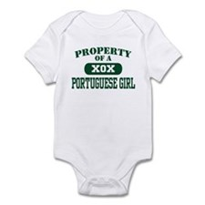 Property of a Portuguese Girl Infant Bodysuit