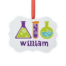 Personalized Scientist Ornament