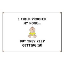 Child Proofed Banner