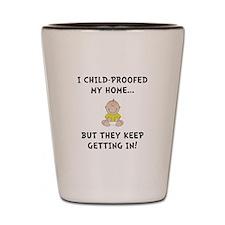 Child Proofed Shot Glass