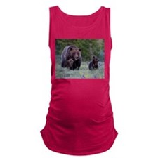 MAMMA GRIZZLY and CUBS Maternity Tank Top