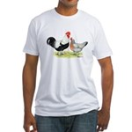 Dorking Chickens Fitted T-Shirt