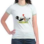 Dorking Chickens Jr. Ringer T-Shirt