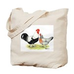 Dorking Chickens Tote Bag