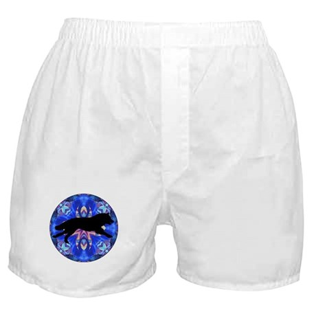 Running Wolf Boxer Shorts