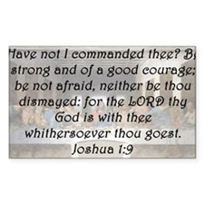 Joshua 1-9 Decal