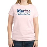 Marine Mother-In-Law (Patriot Women's Pink T-Shirt