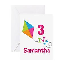 Personalized Birthday Kite Greeting Card