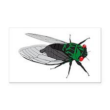 Cicada Rectangle Car Magnet