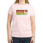 Seriously? Women's Pink T-Shirt