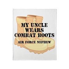AF Nephew Uncle DCB Throw Blanket