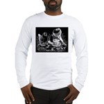 Etched Pigeon Trio Long Sleeve T-Shirt
